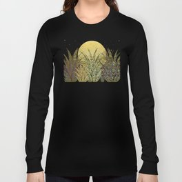 """Golden aloe Zebra midnight sun"" Long Sleeve T-shirt"