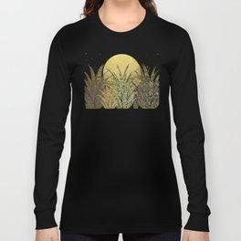 """""""Golden aloe Zebra midnight sun"""" Long Sleeve T-shirt"""