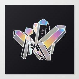 Magic Crystals Canvas Print