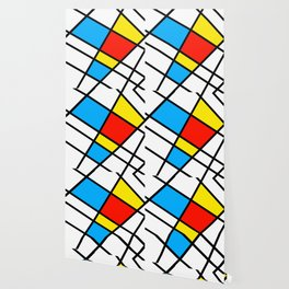 Related Colored Lines Wallpaper