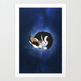 Cardigan Galaxy Art Print