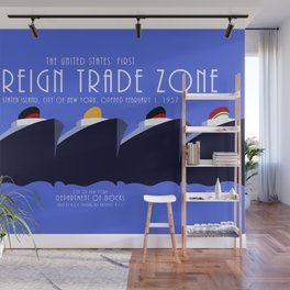 Foreign Trade Zone Staten Island Wall Mural