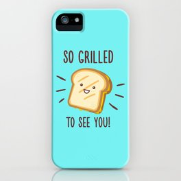 Cheesy Greetings! iPhone Case