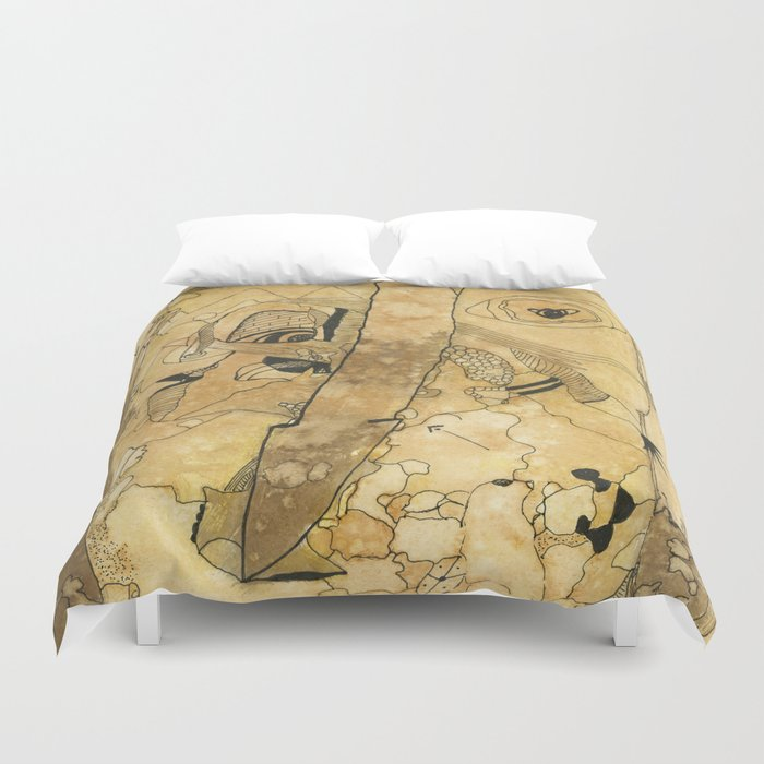 The Journey Is Long But Brief Duvet Cover