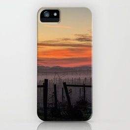 morning sky iPhone Case