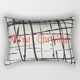 Best foot forward - Merry Christmas Rectangular Pillow