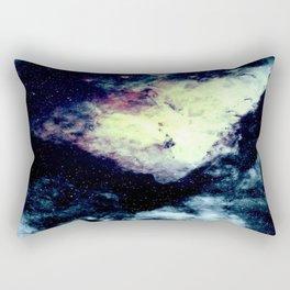 Teal Carina Nebula Rectangular Pillow