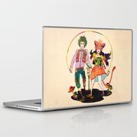 lsd Laptop & iPad Skins featuring LSD love by Natsuki Otani