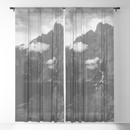 Weather maker Sheer Curtain