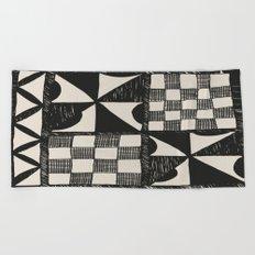 Tapa Cloth | Pacifica Patterns | Tribal Art Beach Towel
