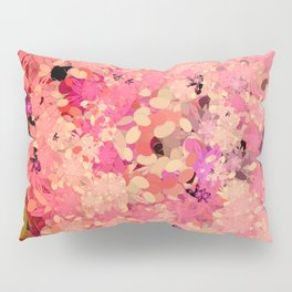 Two Different Worlds -- Floral Pattern Pillow Sham