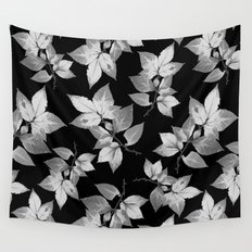 Elegant Leaves Wall Tapestry