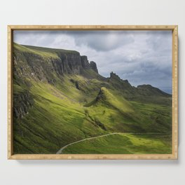 Mesmerized by the Quiraing Serving Tray