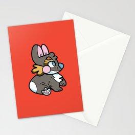 Tri Corgi Stationery Cards