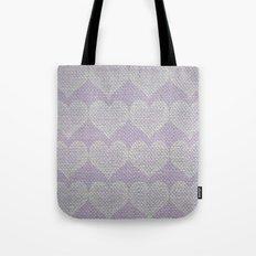 Heart Fabric Tote Bag