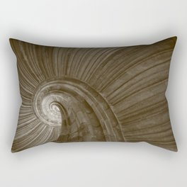 Sand stone spiral staircase 5 Rectangular Pillow