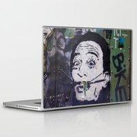 salvador dali Laptop & iPad Skins featuring Salvador Dali by Victoria Herrera