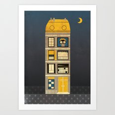 Night spy Art Print