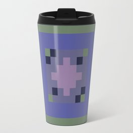 Blue Pattern 72 Travel Mug