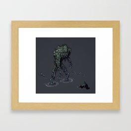 Swamp citizen Framed Art Print