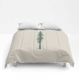 Love in the forest - tan Comforters
