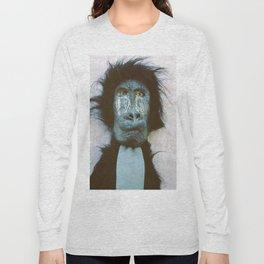 Blue Baboon Long Sleeve T-shirt