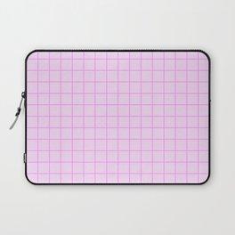 Grid Pattern - pink - more colors Laptop Sleeve