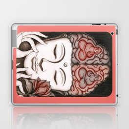How meditation changes your brain... and makes you wiser? Laptop & iPad Skin