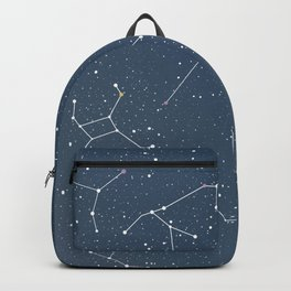 Star night constellations Backpack