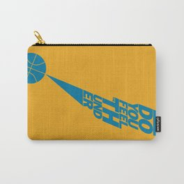 Do You Feel the Thunder? (Orange) Carry-All Pouch