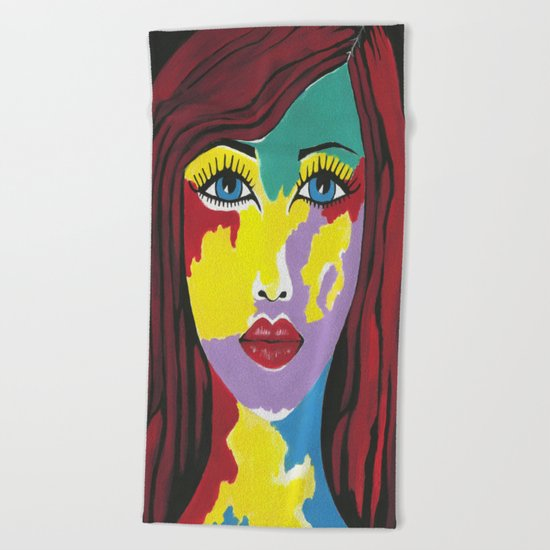 Spectra Beach Towel