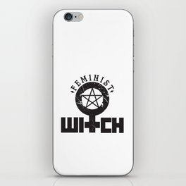 Feminist Witch iPhone Skin