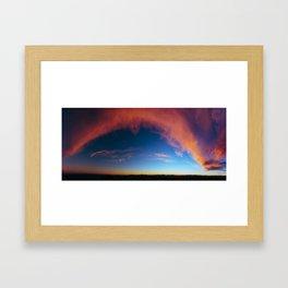Gaze upon us Framed Art Print