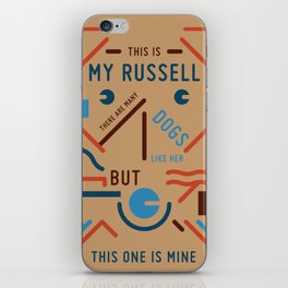 My Russell iPhone Skin