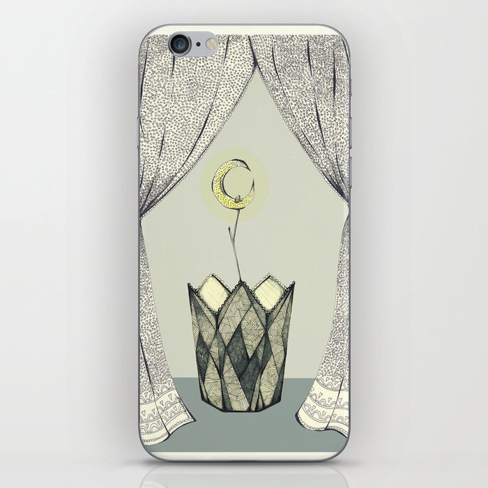 Inspired By Radiohead Lotus Flower Iphone Skin By Awlameow