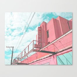 Aloha State Theater (Hanapepe) Canvas Print