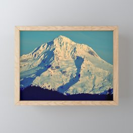 MT. HOOD - AT TWILIGHT Framed Mini Art Print