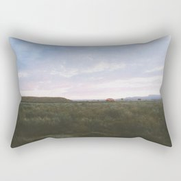 Of The Beaten Track In New Mexico Rectangular Pillow
