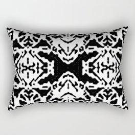 X001_black Rectangular Pillow