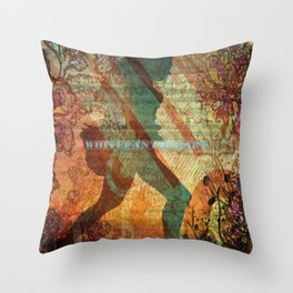 Illustration, graphic desing, art Throw Pillow