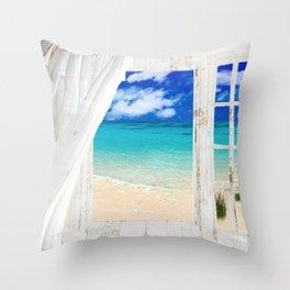 Summer Me Throw Pillow