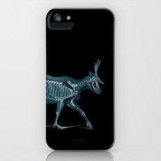 X-ray Deer - Stag Illustration - Deer Art Print - Woodland Animal Print Slim Case iPhone SE