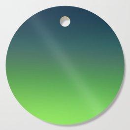 STONE GARDEN - Minimal Plain Soft Mood Color Blend Prints Cutting Board