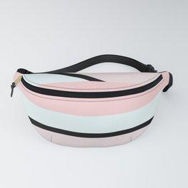 Blush Pink Geometric Fanny Pack