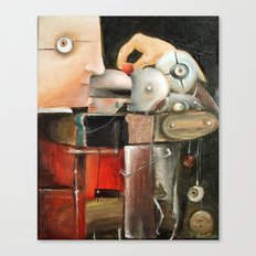 Collector Canvas Print