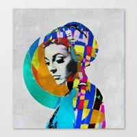 pop art Canvas Prints featuring Pop by Steve W Schwartz Art