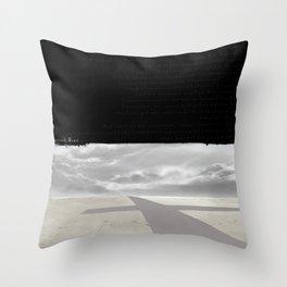 CROSSROADS BLUES Throw Pillow