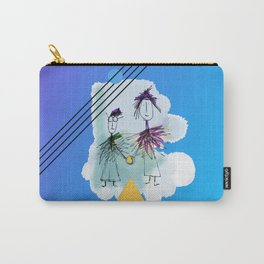 Holding Hands in the sky Carry-All Pouch