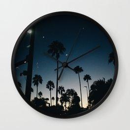 Midnight Sunset Wall Clock