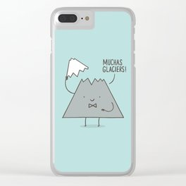 Muchas Glaciers Clear iPhone Case